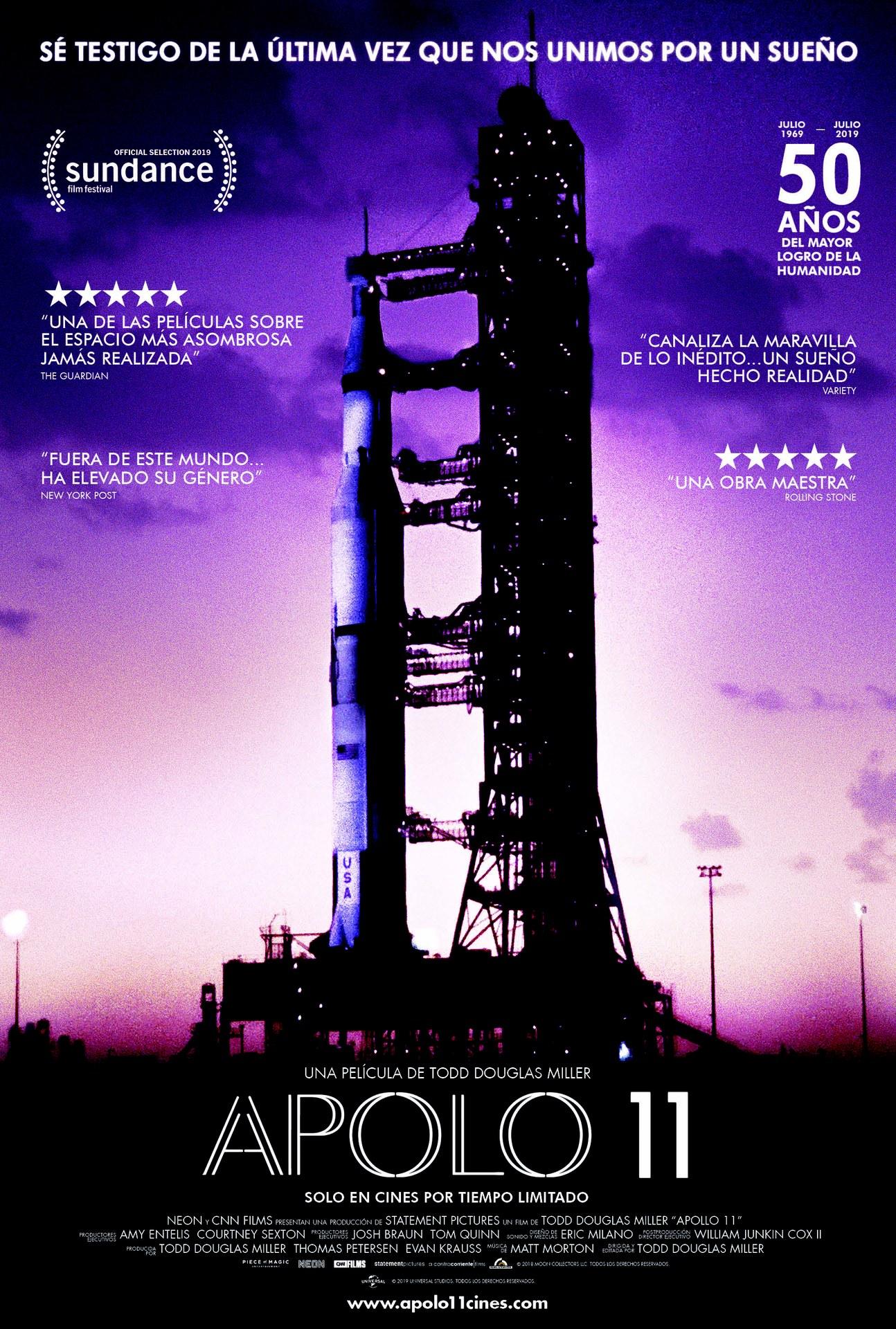Cinema: 'Apolo 11' (VOS CAST.)