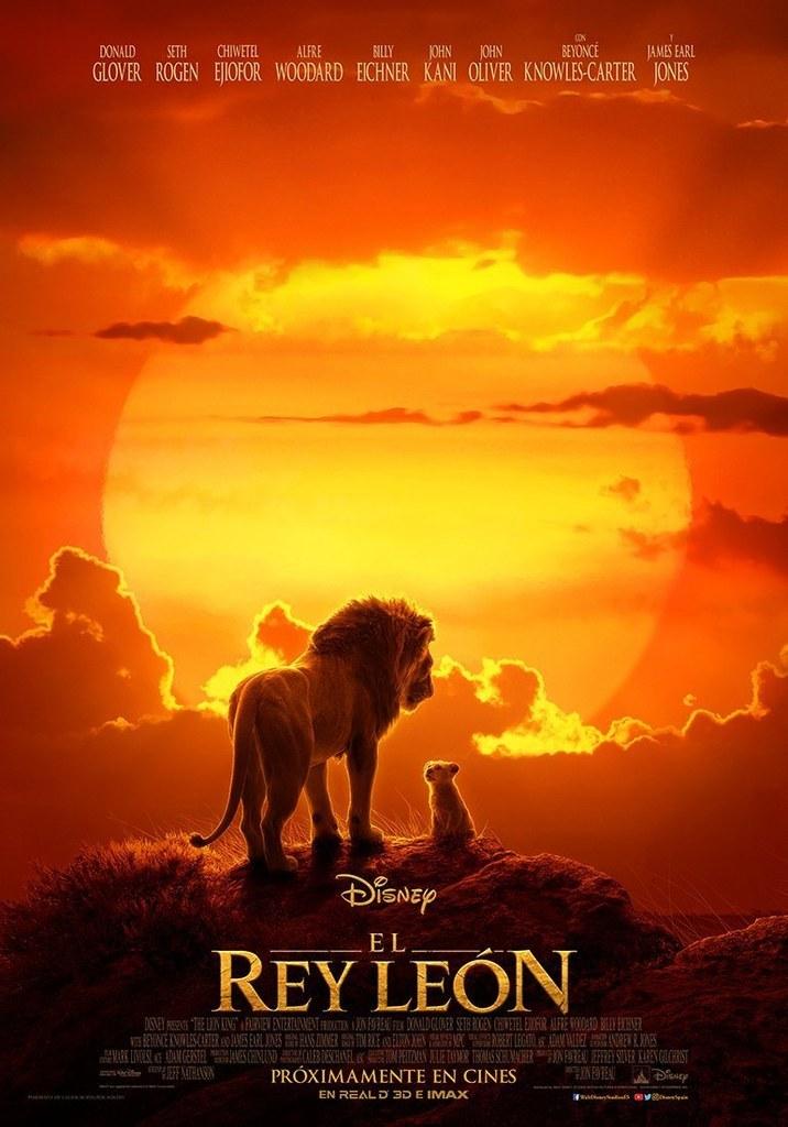 Cinema: 'El Rey León' (Versió en castellà) (Dia de l'espectador)