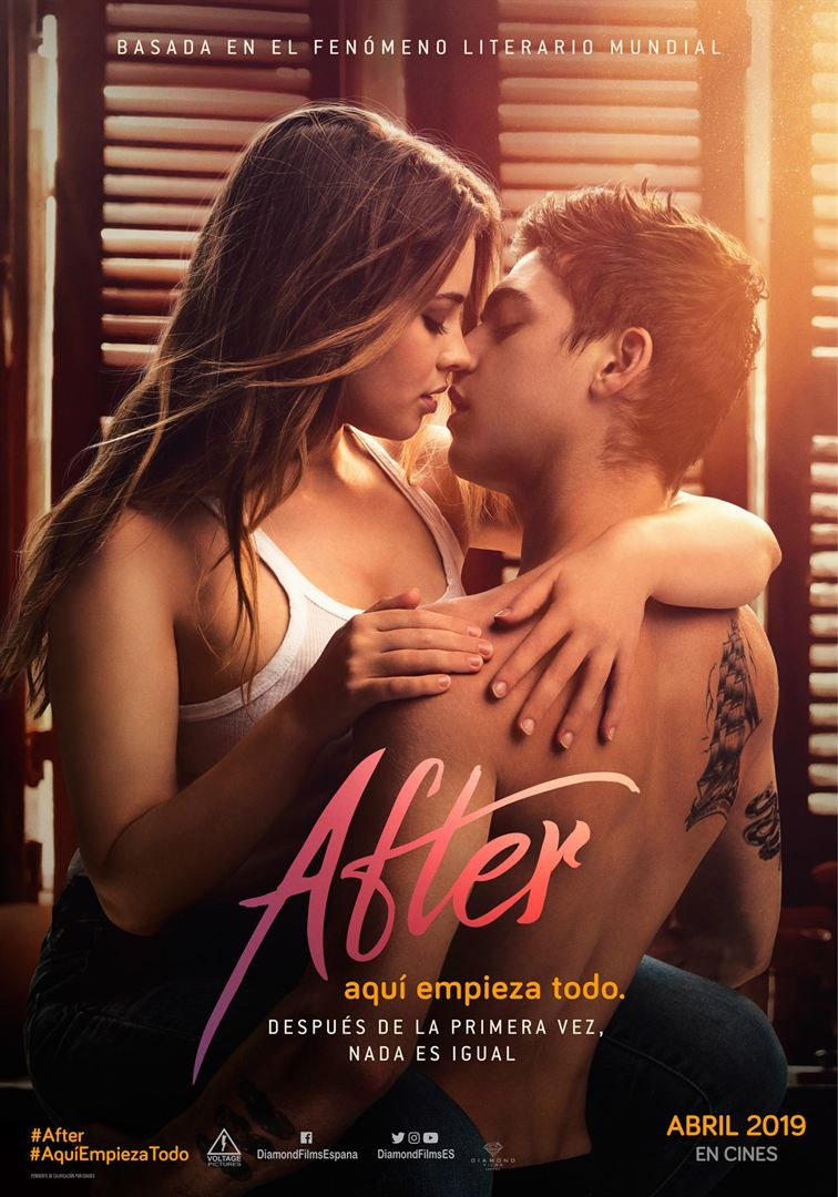 Cartell del film 'After: Aquí empieza todo'