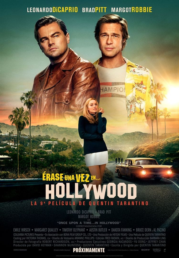 Cinema: 'Once Upon a Time in... Hollywood' ('Érase una vez en ... Hollywood')