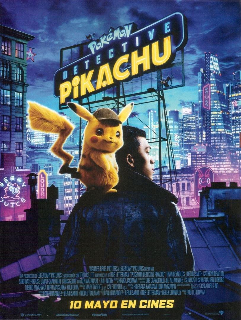 Cartell del film 'Pokémon: Detective Pikachu'