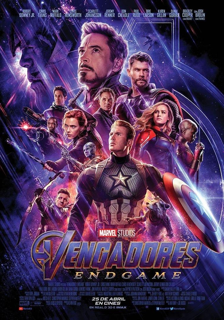 Cartell del film 'Vengadores: Endgame'