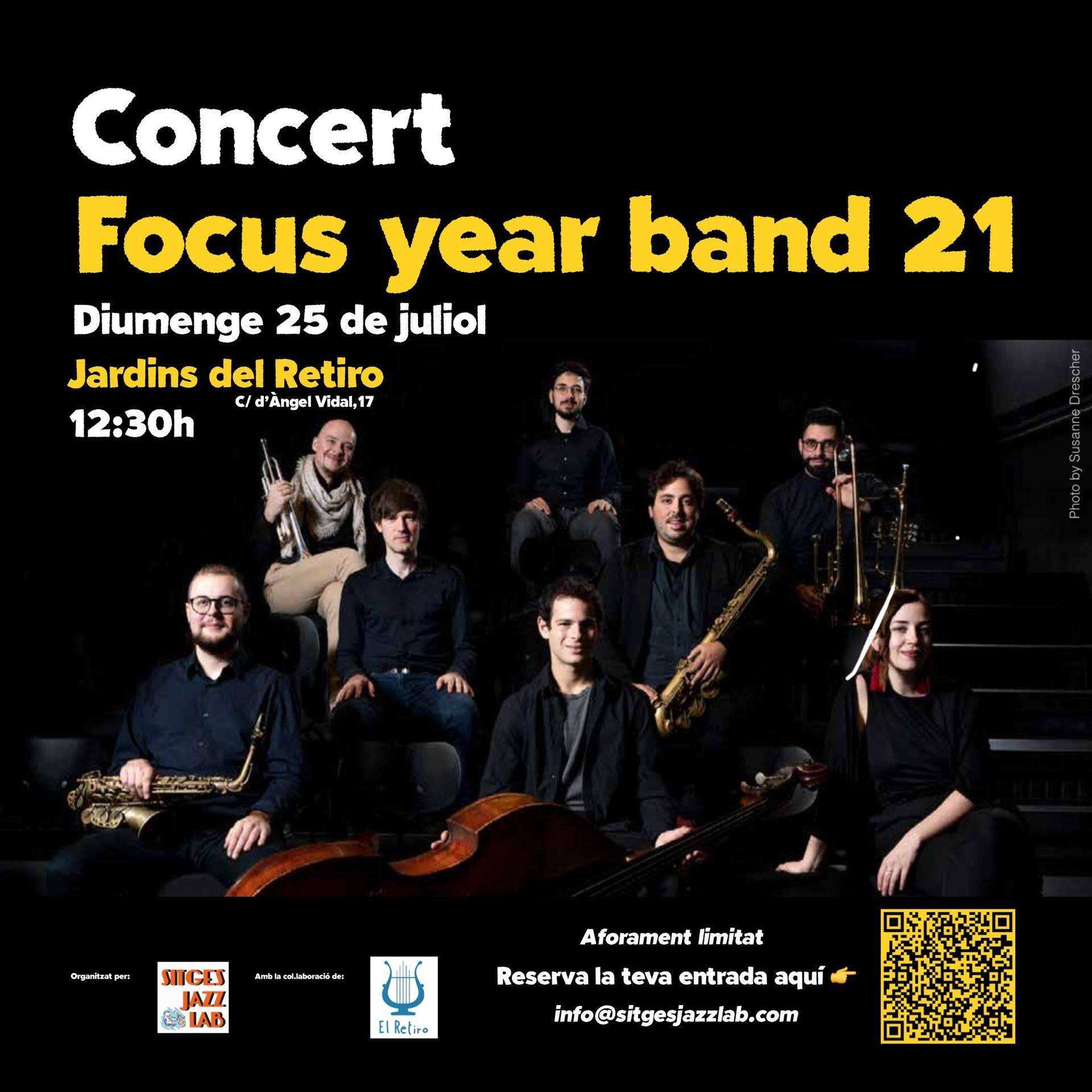 Concert de THE FOCUS YEAR BAND 21