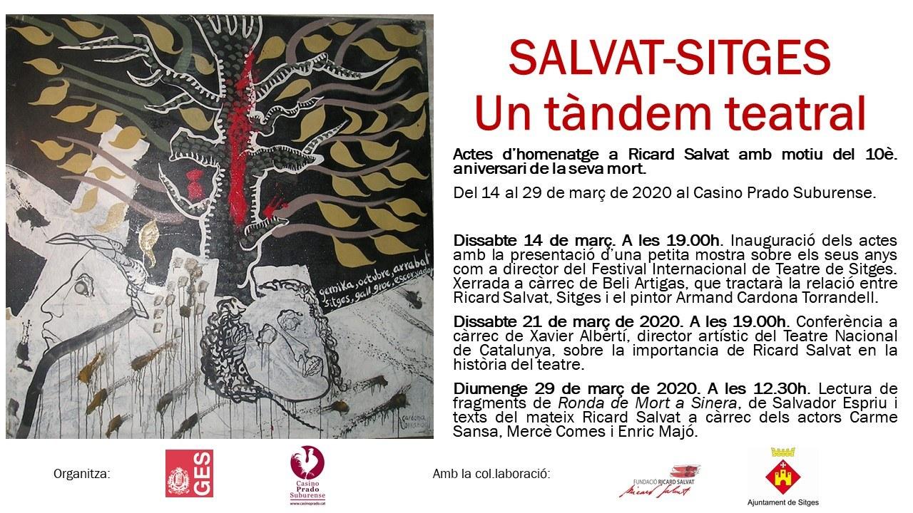 Lectura de fragments de Ronda de Mort a Sinena, de Salvador Espriu i texts de Ricard Salvat