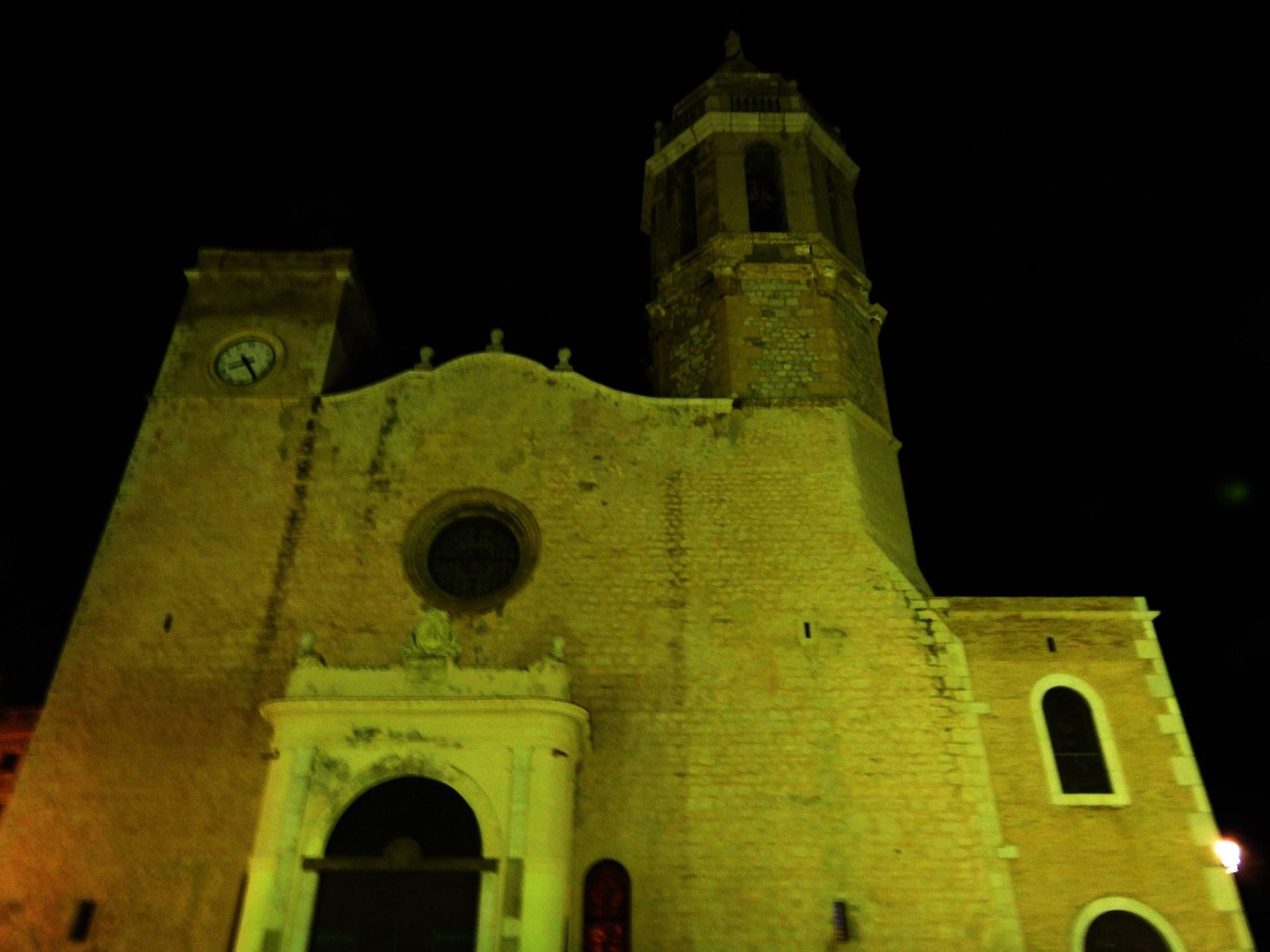 L'Hora del Planeta a Sitges: Apagada simbòlica de La Punta