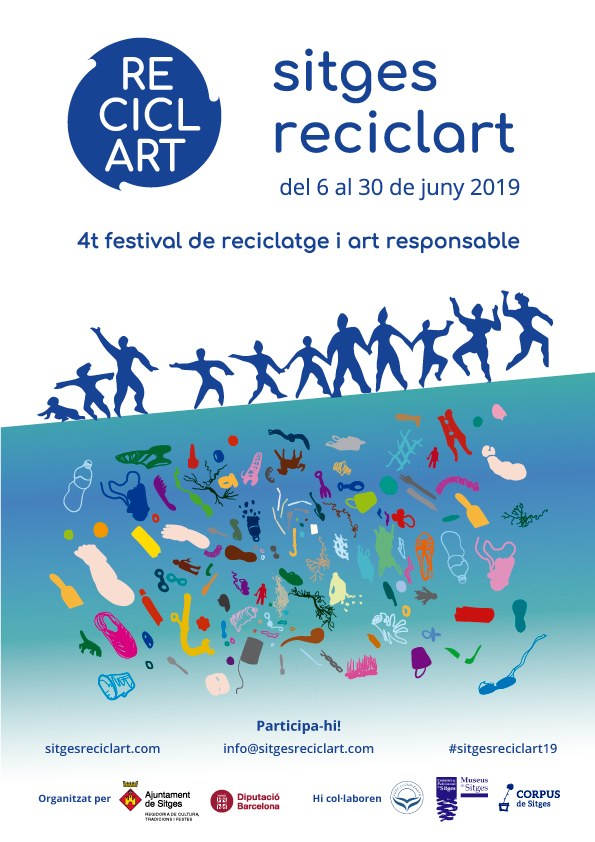 Taller: 'Teixint La Mar de Plàstics' / Festival Sitges ReciclArt 2019