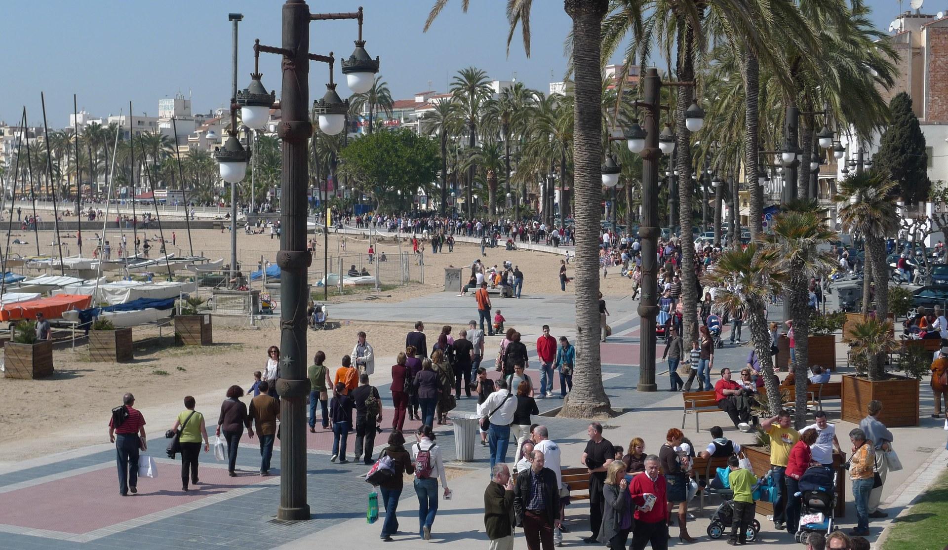 Es calcula que durant els 4 dies del Festival, visiten Sitges unes 48.000 persones