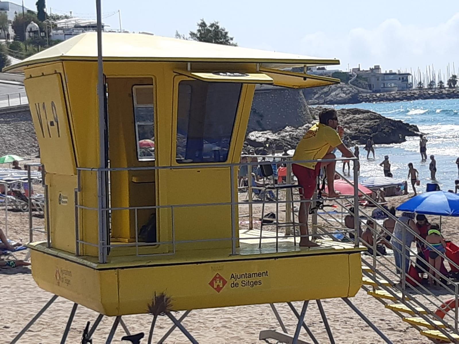 El servei de salvament registra una reducció de les assistències a les platges i augmenta les prevencions