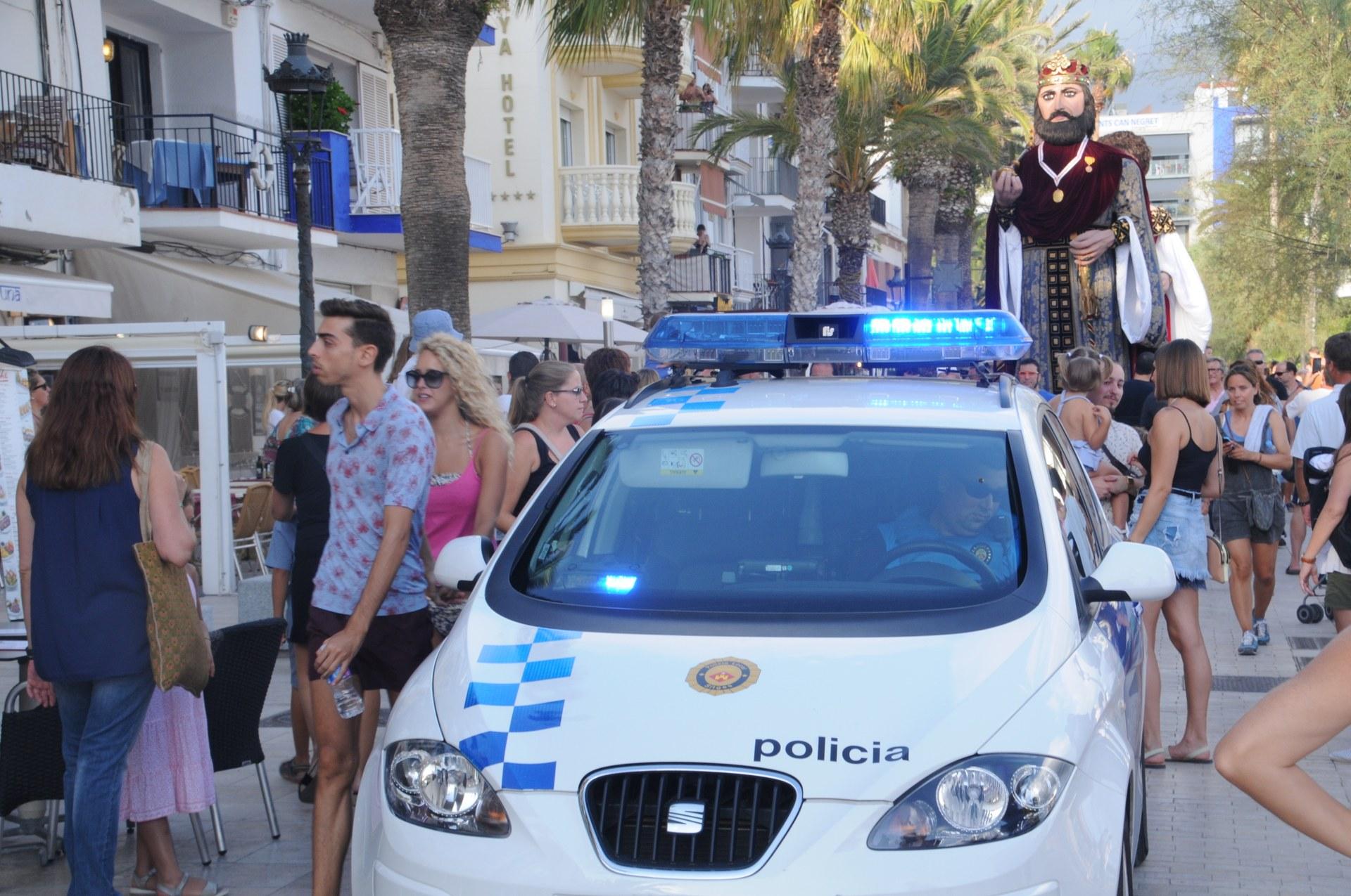 El dispositiu especial de seguretat amb motiu de Sant Bartomeu estarà en funcionament fins el 26 d'agost