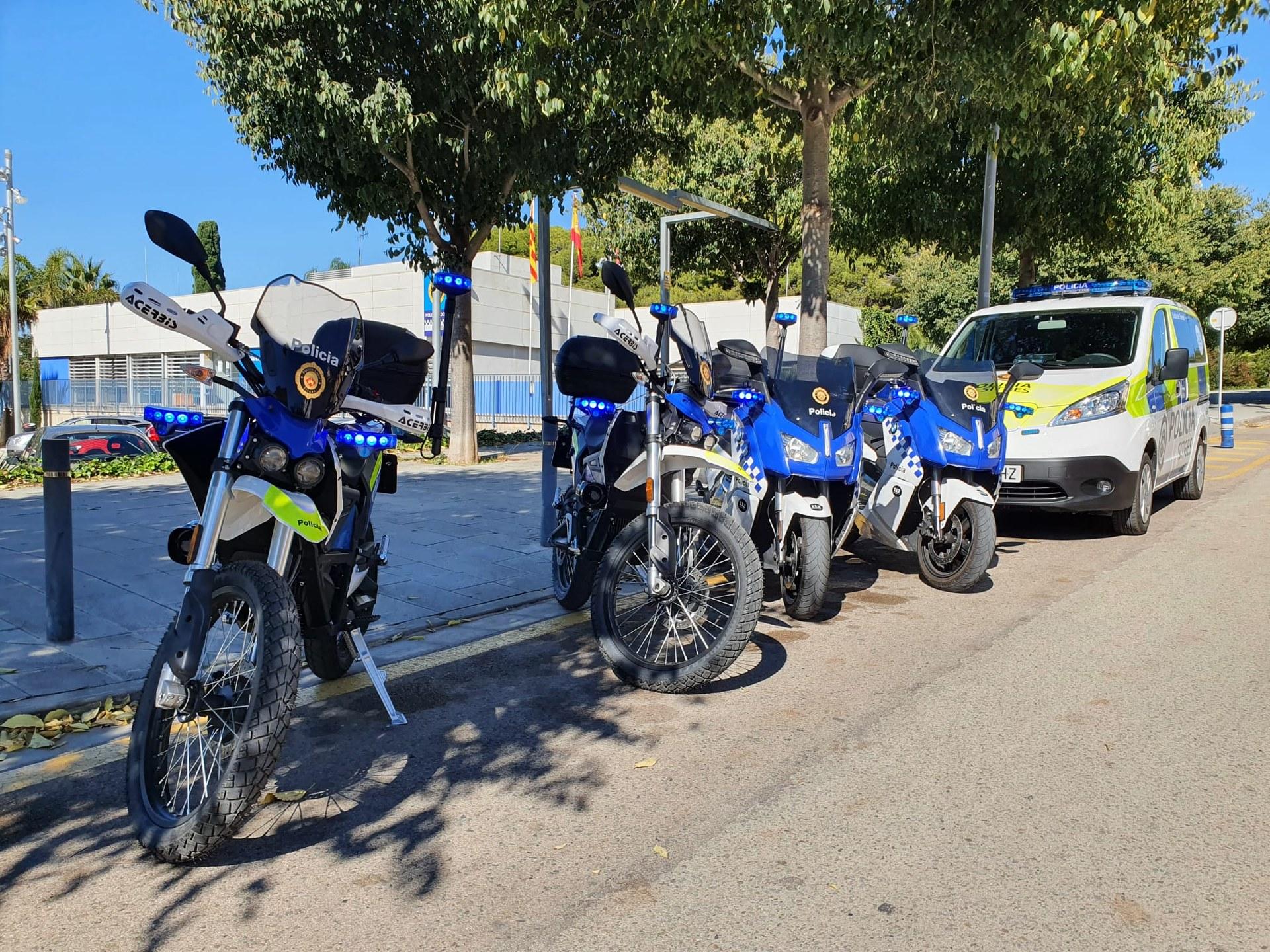 L'Ajuntament segueix el pla de millora del parc mòbil de vehicles amb dues motocicletes elèctriques