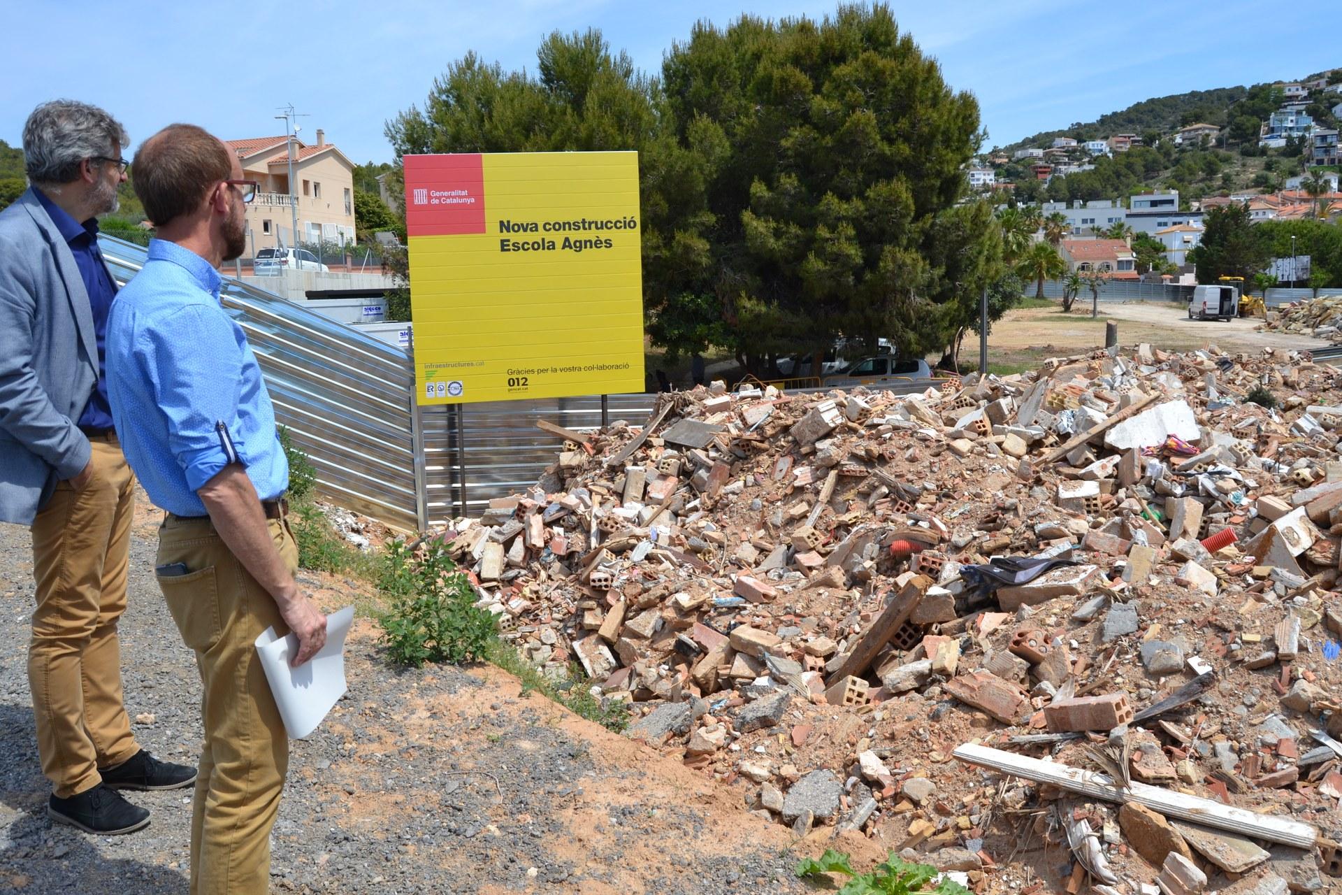 L'alcalde de Sitges, Miquel Forns, fa balanç de les inversions del mandat 2015-2019