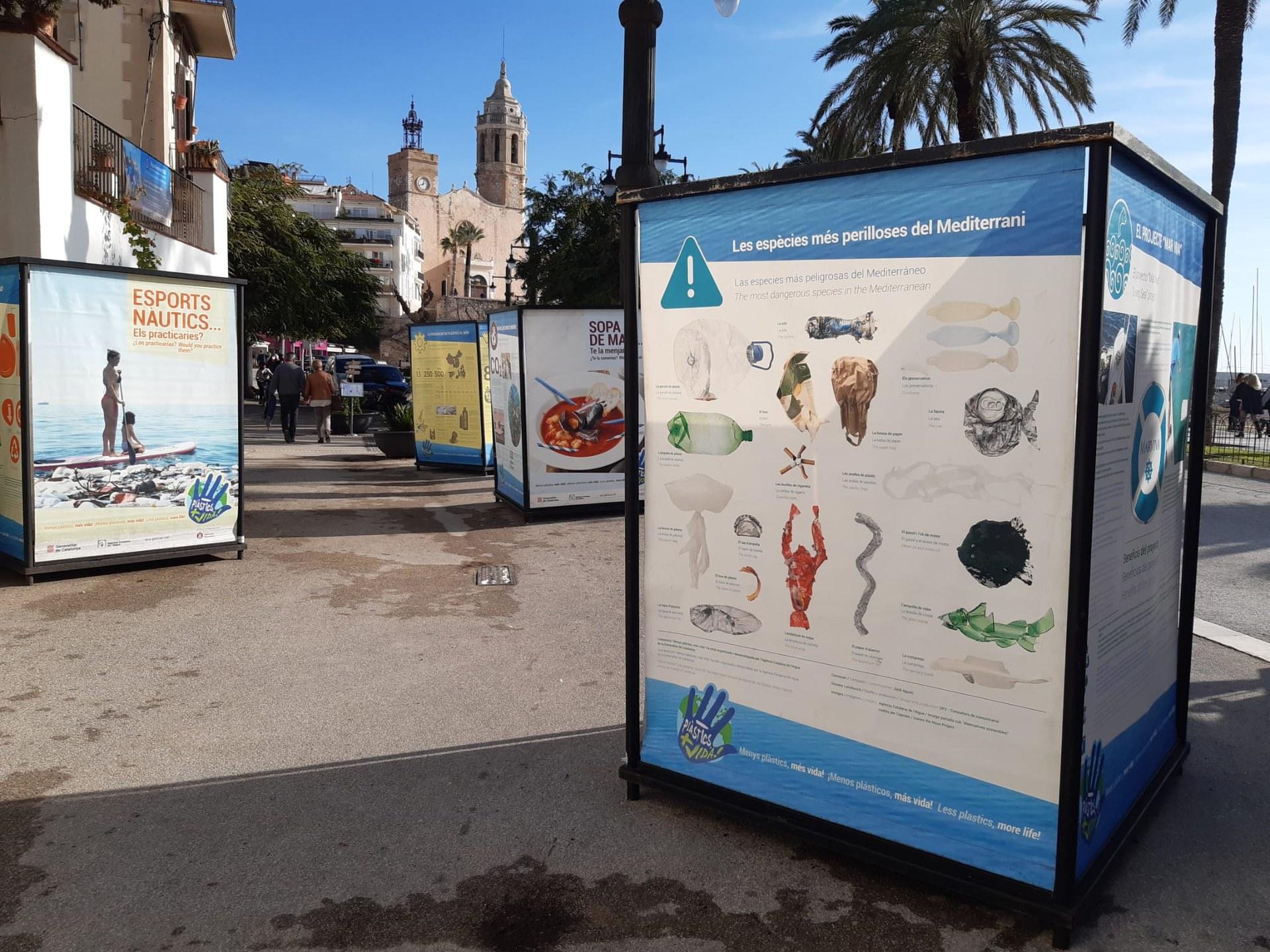 La mostra col·lectiva del festival Sitges Reciclart es pot visitar fins a finals de desembre