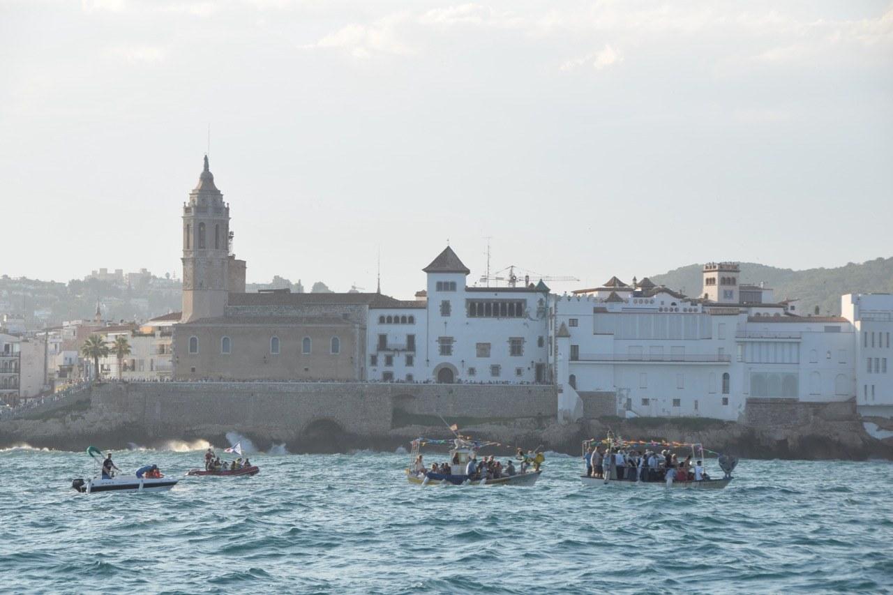 La Festa de la Mare de Déu del Carme recorda el passat mariner de Sitges