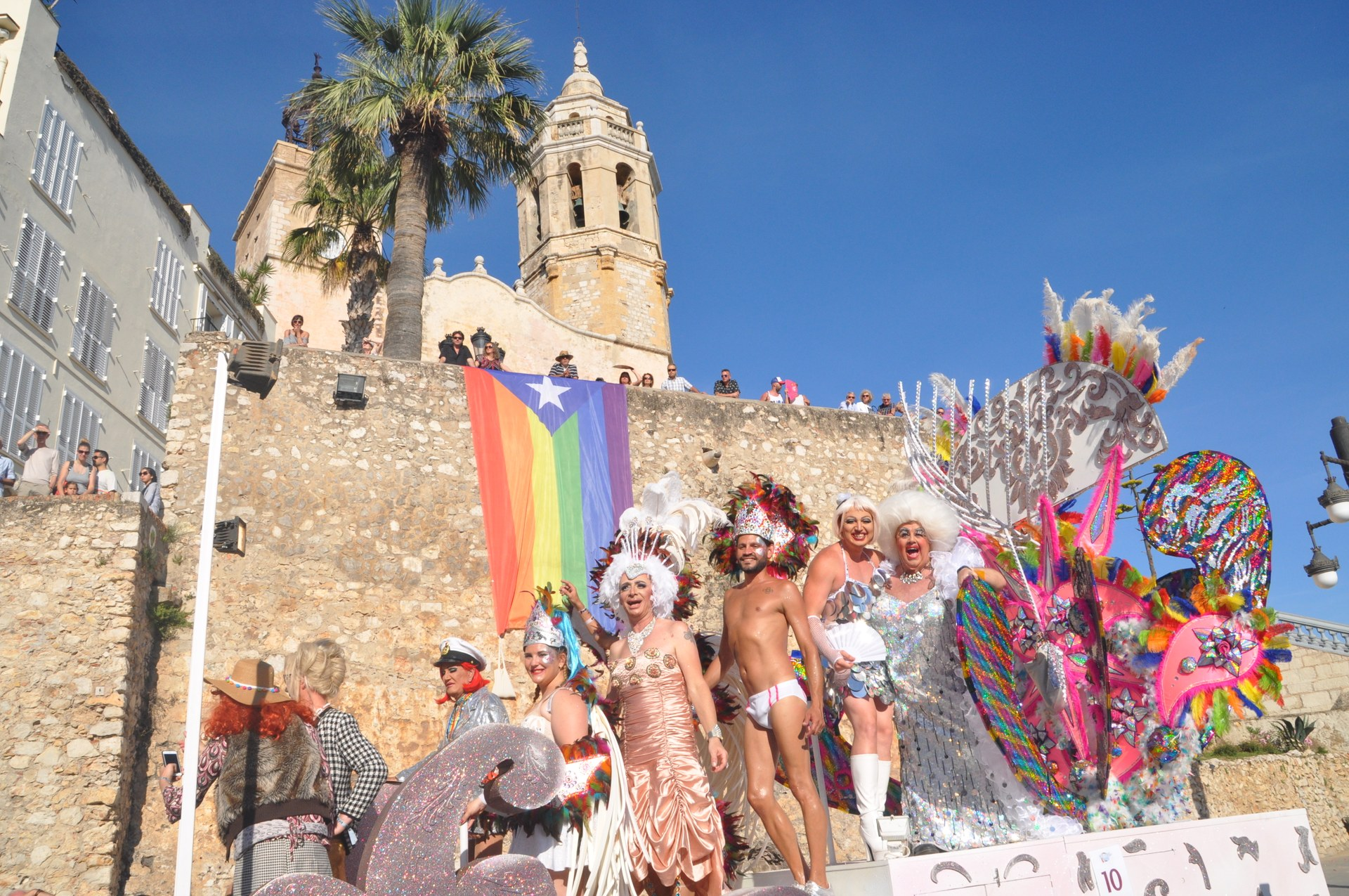 La Gay Pride a Sitges celebra el desè aniversari