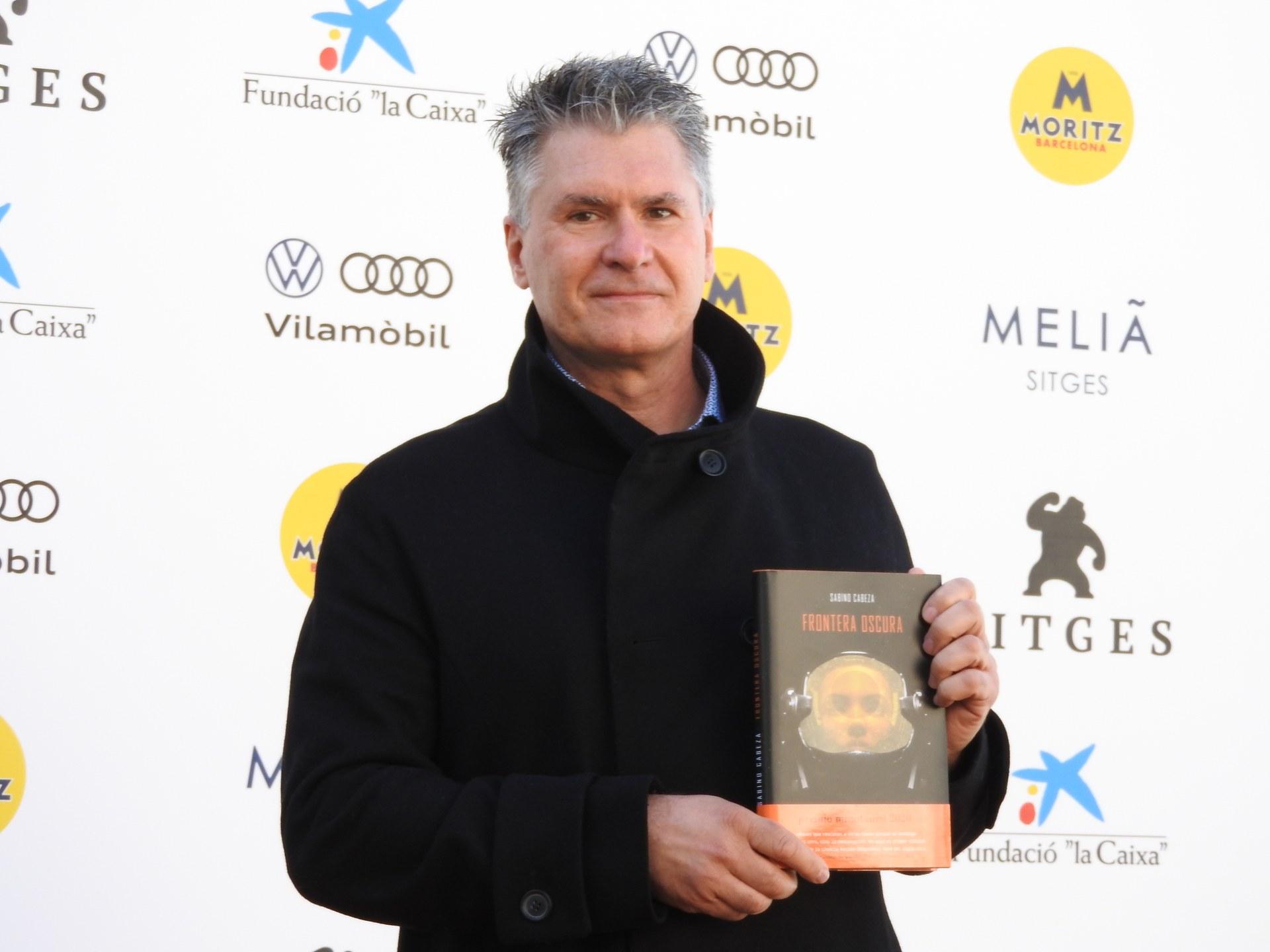 "Sabino Cabeza, autor de ""Frontera oscura"" la novel·la guanyadora del XV Premio Minotauro."