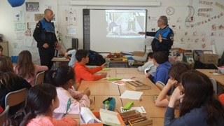 La Policia Local reprèn les sessions de mobilitat segura a les escoles