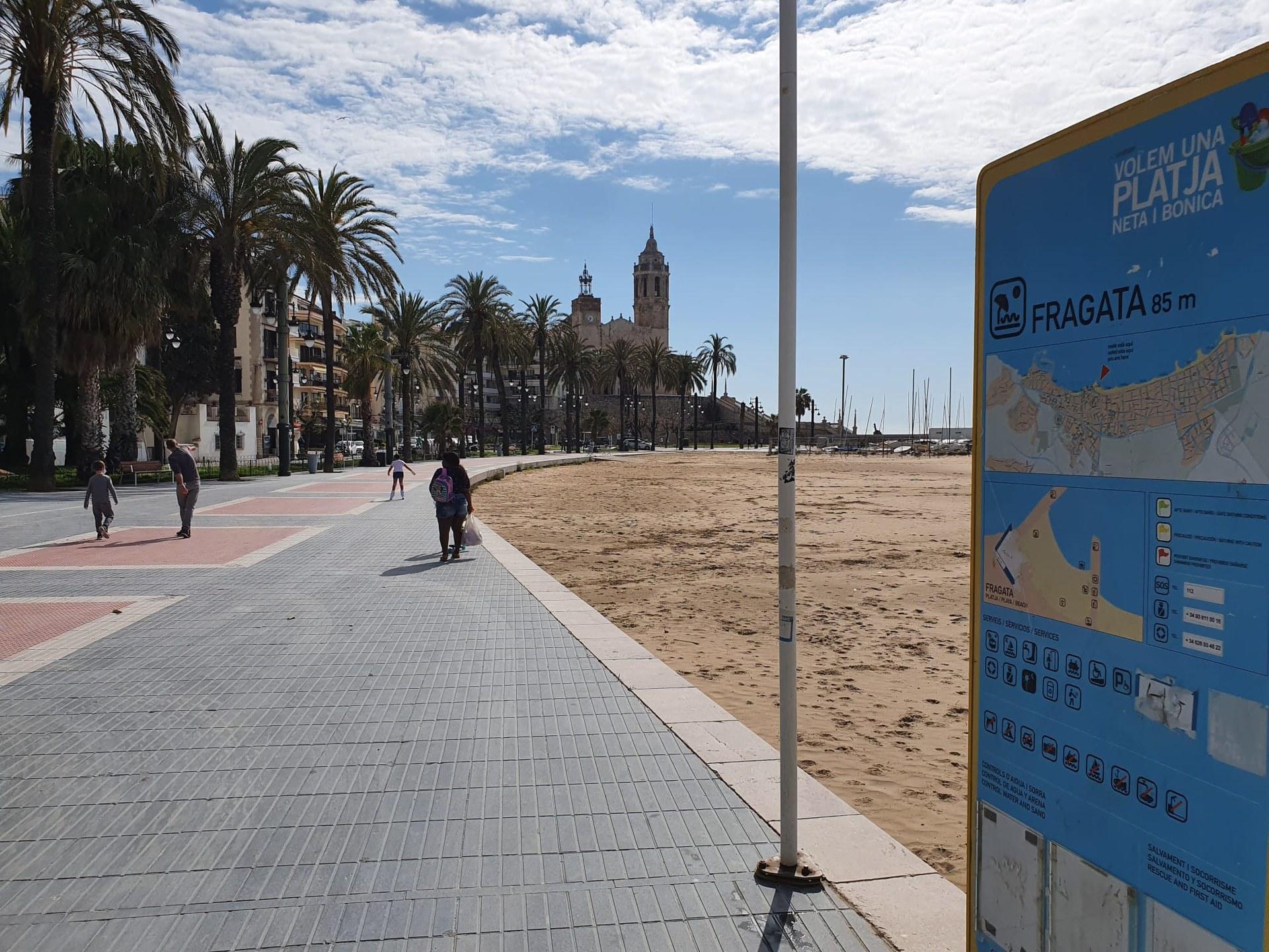 La regidoria de Turisme de Sitges preguntarà l'opinió als residents de la Fragata i el Passeig de la Ribera sobre l'activitat turística