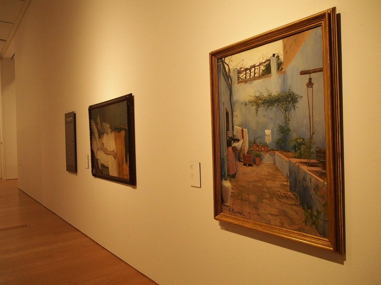 Obres de Rusiñol i d'Utrillo del Cau Ferrat acompanyen la ruta japonesa del Modernisme català