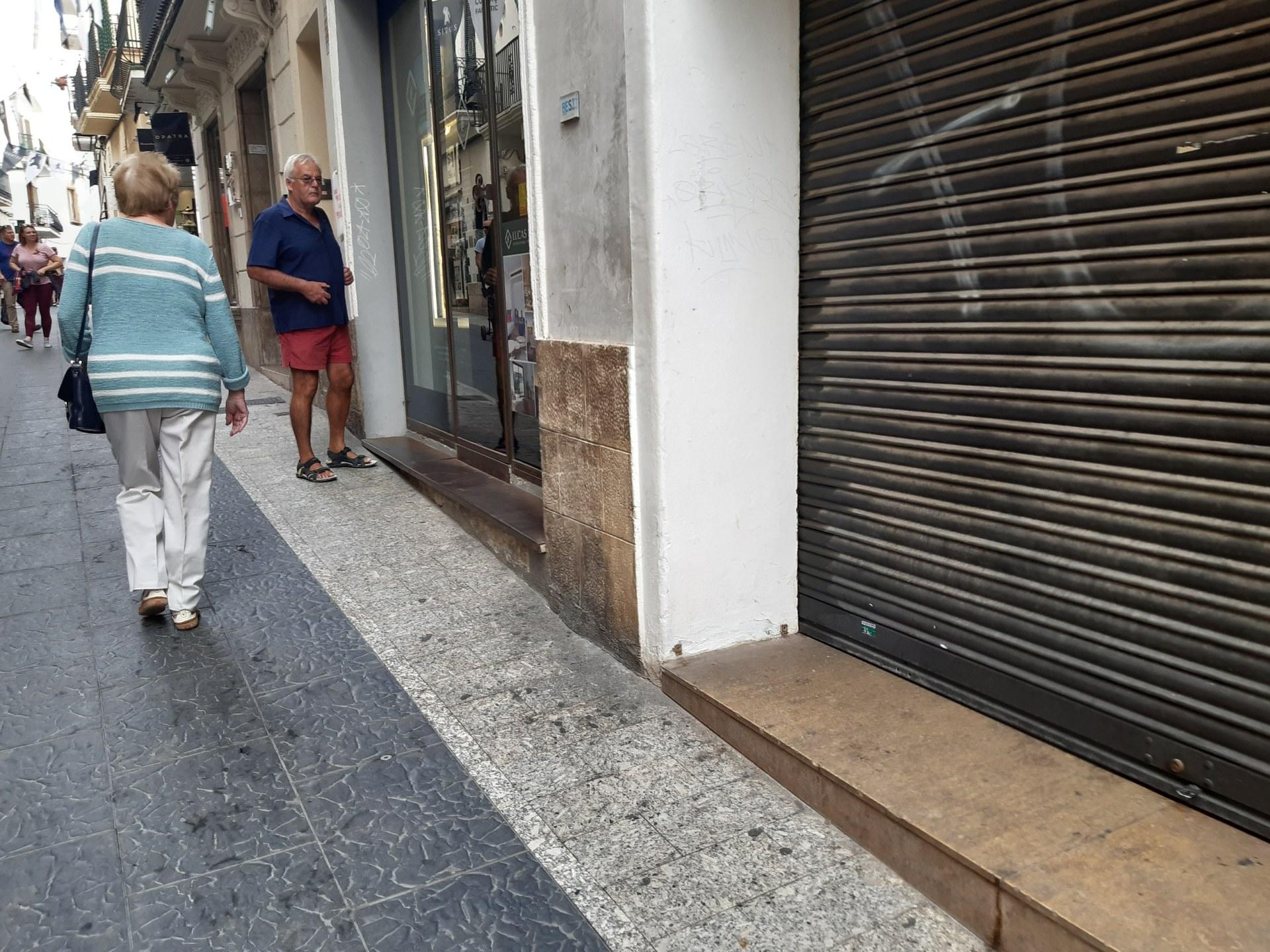 Seguiment de la vaga a Sitges