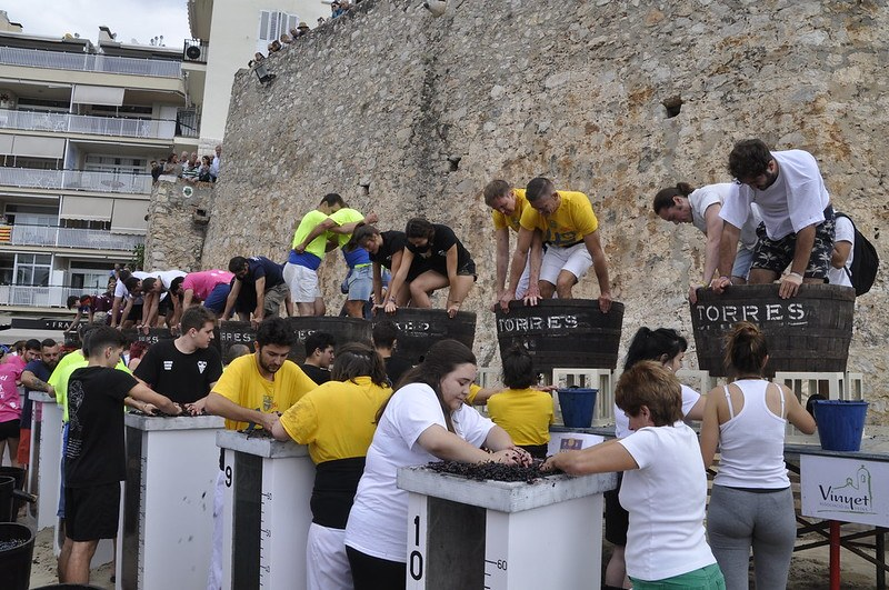 Diumenge 13 d'octubre tindran lloc els actes més tradicionals de la Festivitat com el Concurs de Trepitjadors