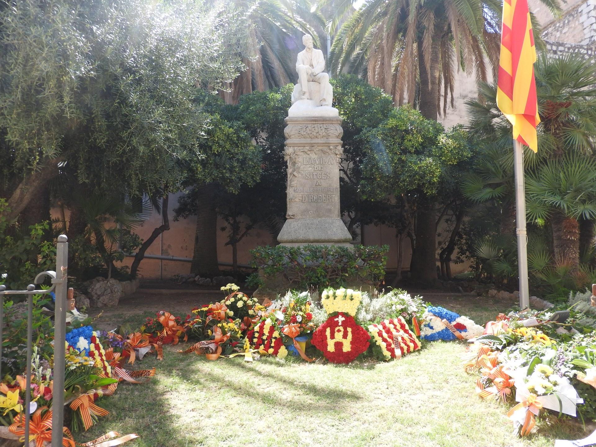 Sitges celebra l'acte institucional de la Diada Nacional de Catalunya, adaptat a la Covid-19