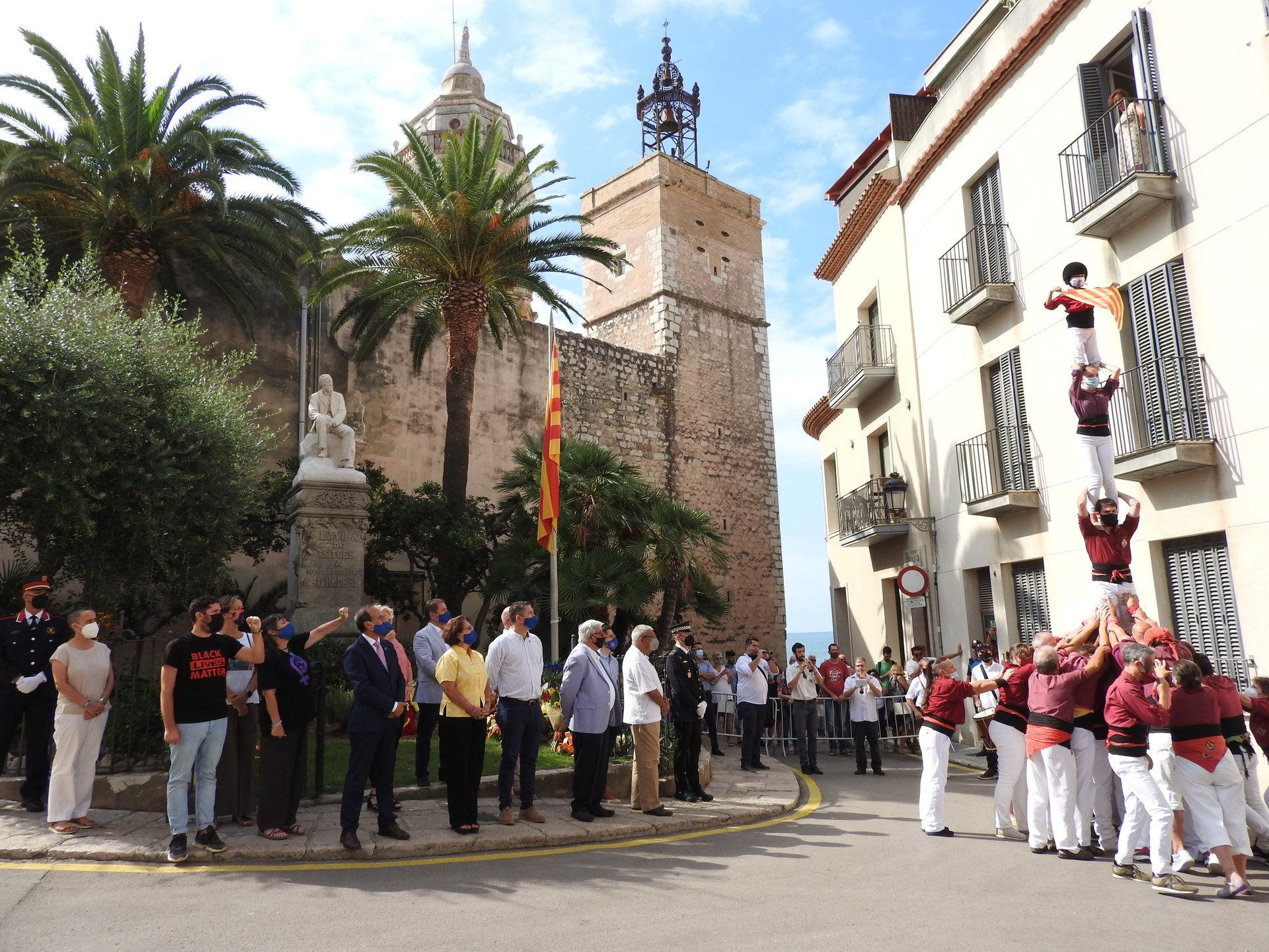 Sitges celebra l'acte institucional de la Diada Nacional de Catalunya