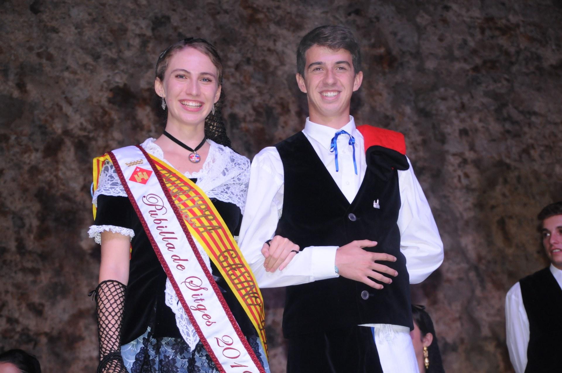Sitges ha proclamat el nou Hereu i la nova Pubilla de Sitges