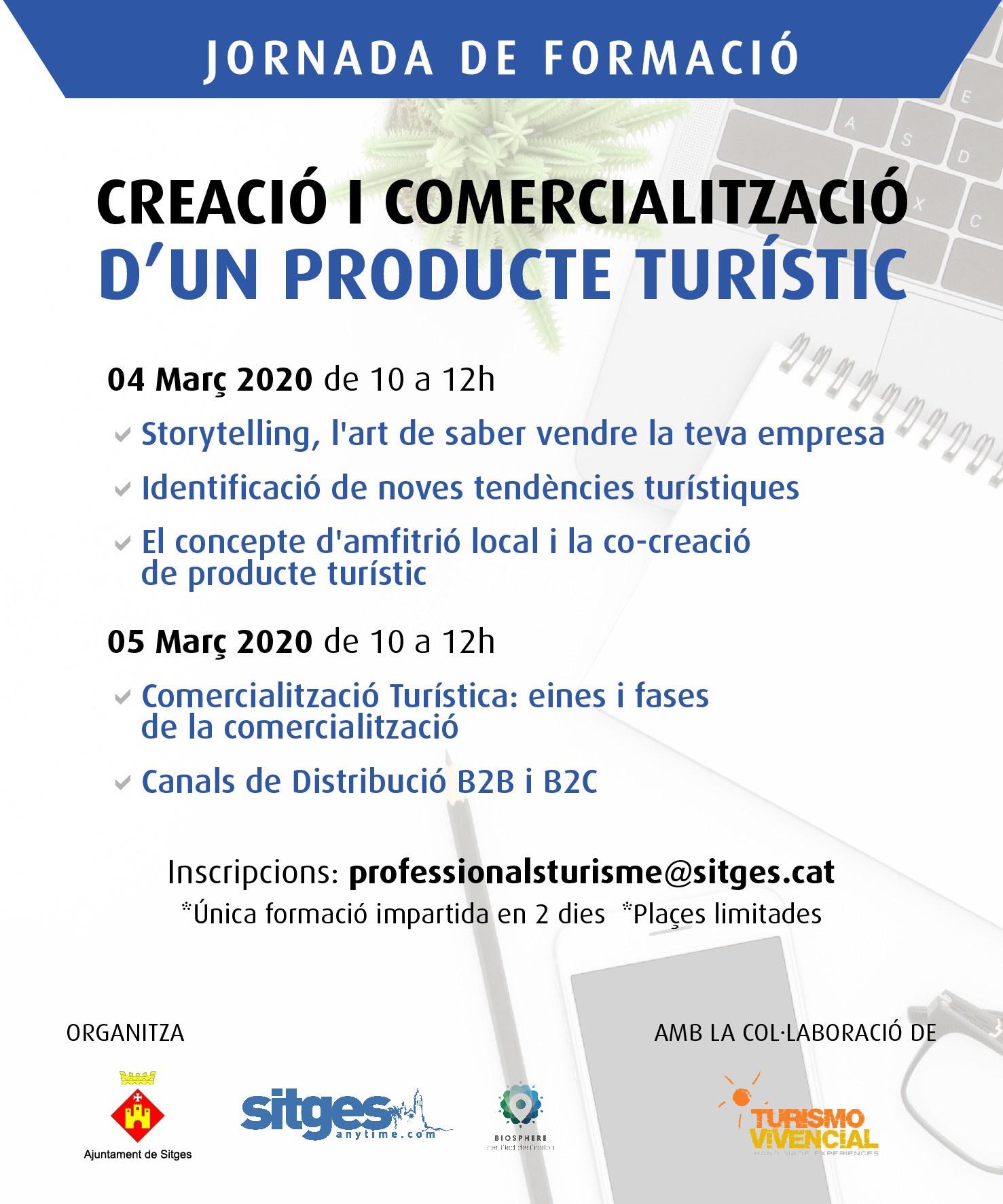 Turisme de Sitges ofereix una sessió formativa sobre la creació i la comercialització de productes turístics