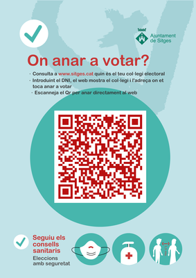 Cartell On anar a votar