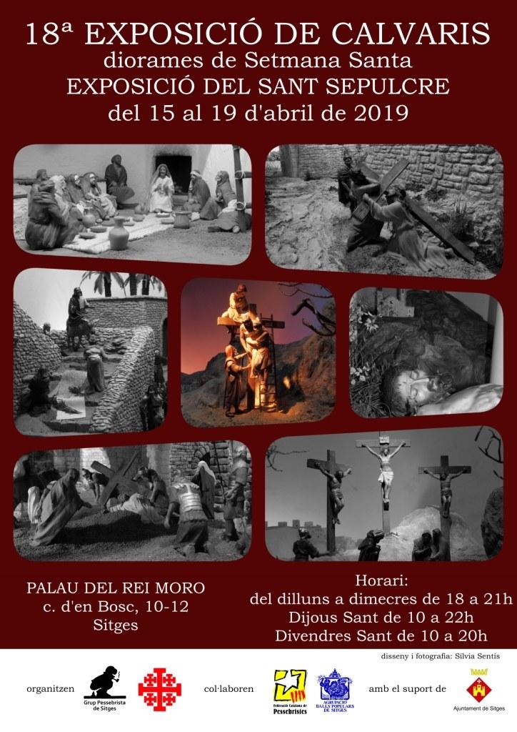 Cartell de la 18a Exposició de Calvaris