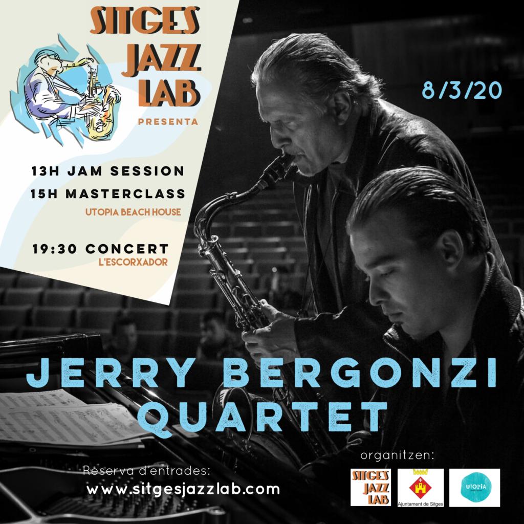'Sitges Jazz Lab' presenta el quartet de Jerry Bergonzi
