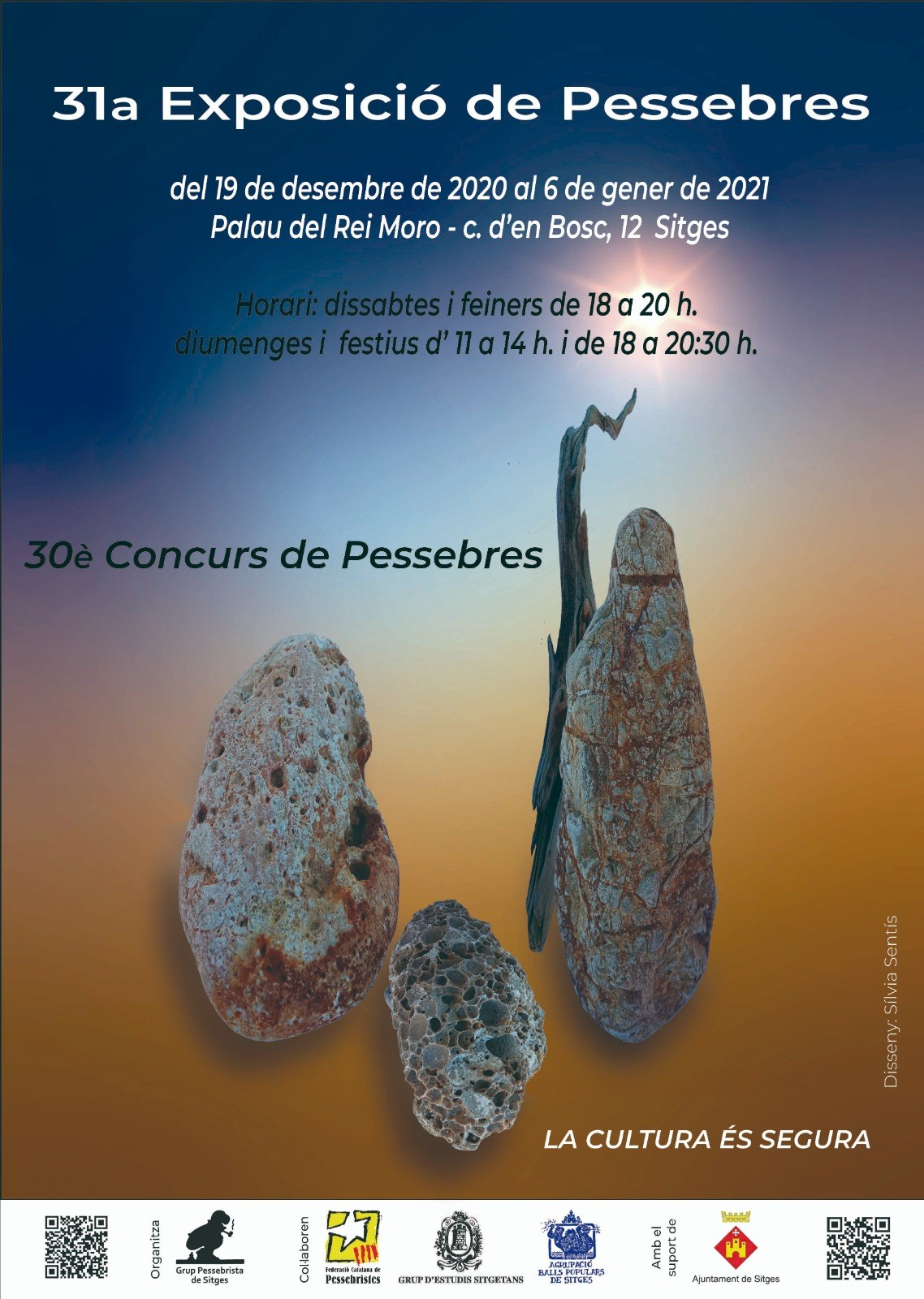 31a Exposició de diorames de pessebre al Palau del Rei Moro