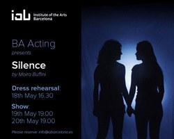 Actuació de Final de Curs del BA Acting de l'IAB