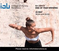 Actuació de Final de Curs del BA Dance de l'IAB