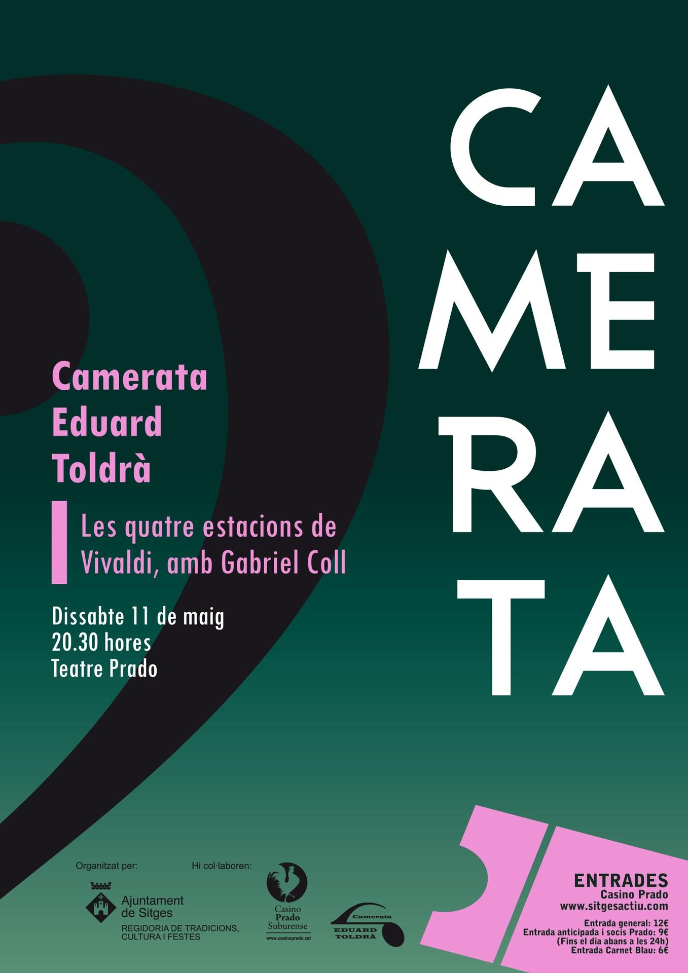 Cicle de concerts de la Camerata Eduard Toldrà