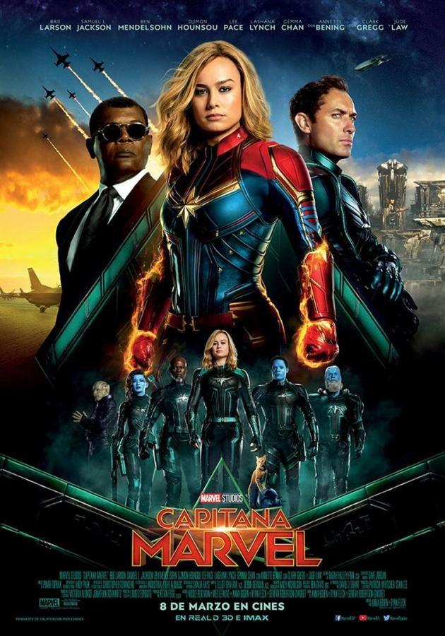 Cinema: 'Capitana Marvel'