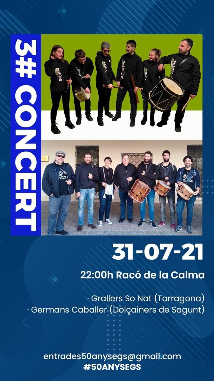Concert de Grallers So Nat (Tarragona) i Germans Caballer (Dolçainers de Sagunt)