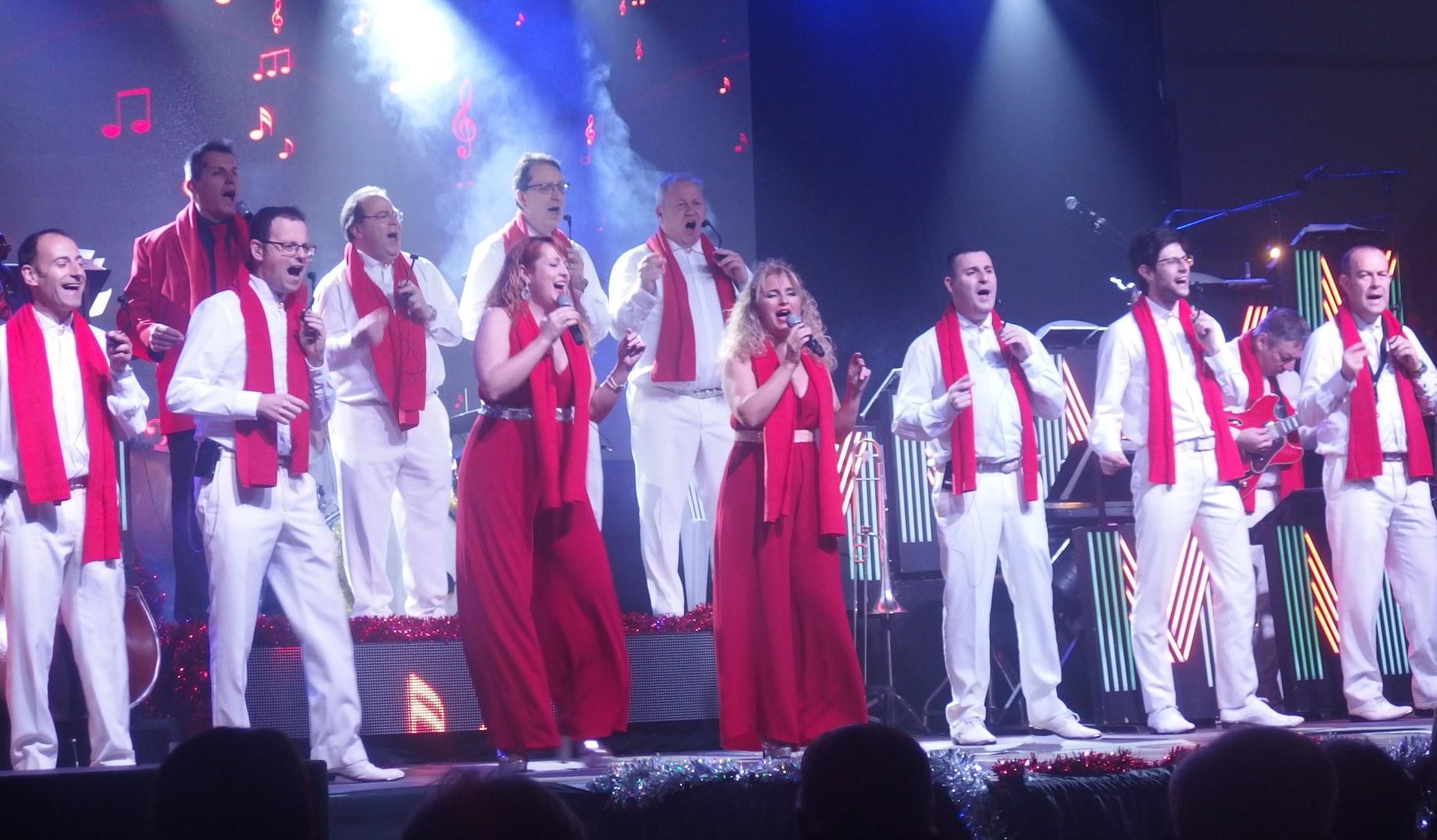 L'Orquesta Maravella en el concert que va fer a Sitges en el Nadal 2019