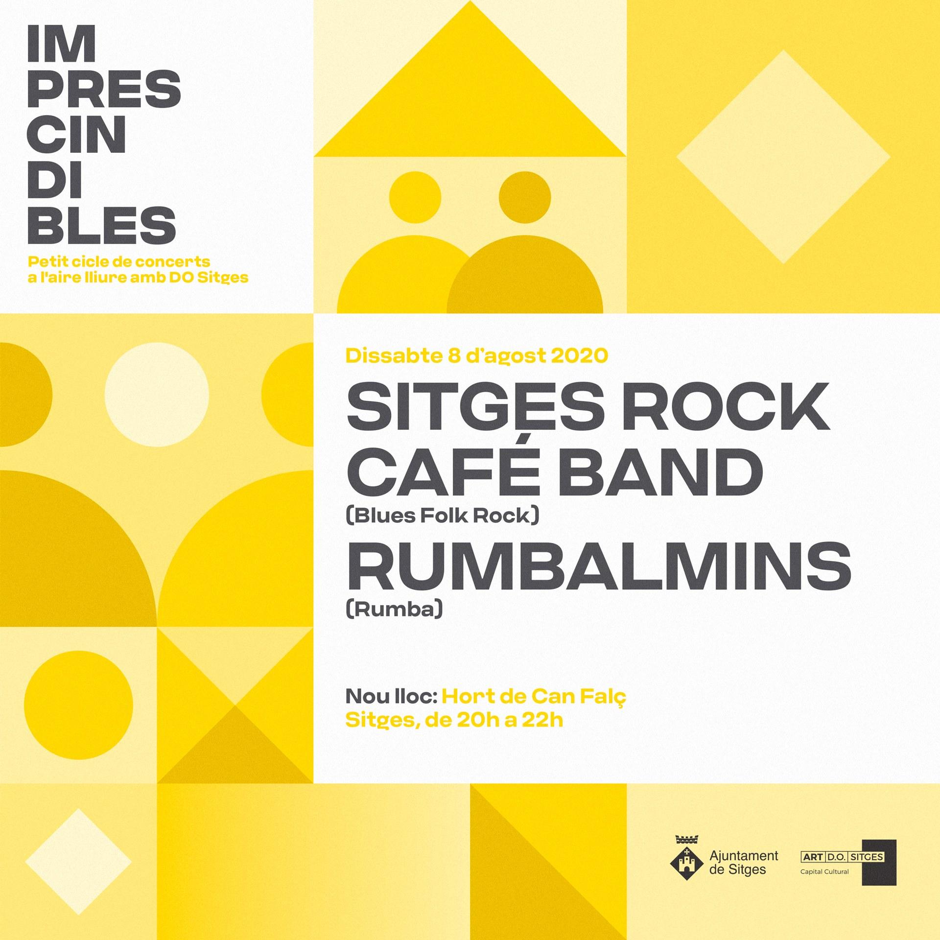 Concert de Sitges Rock Café Band i Rumbalmins