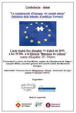 Conferència-Debat 'La construcció d'Europa, un somni etern'