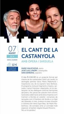 """El Cant de la castanyola """"amb òpera i sarsuela"""""""