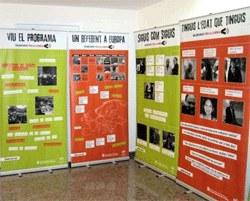 """Exposició """"10 anys de VxL: un tast!"""" sobre el Voluntariat per la llengua a Sitges"""