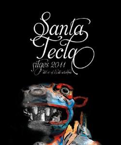 Exposició de la imatge de Santa Tecla