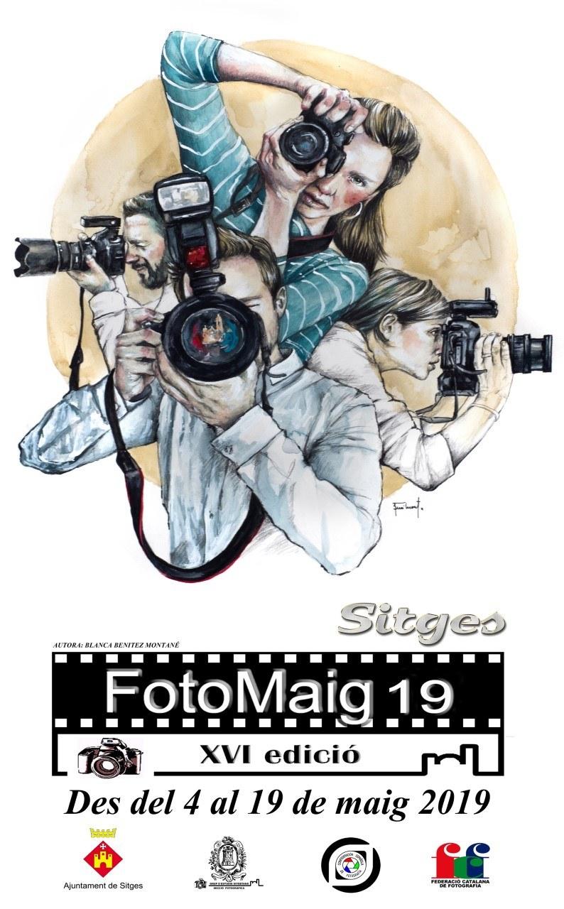 Exposició de les obres premiades al concurs fotogràfic 'Sitges Minicup'