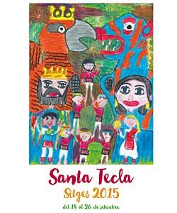 Gran assaig de Santa Tecla de la Colla Jove de Castellers de Sitges