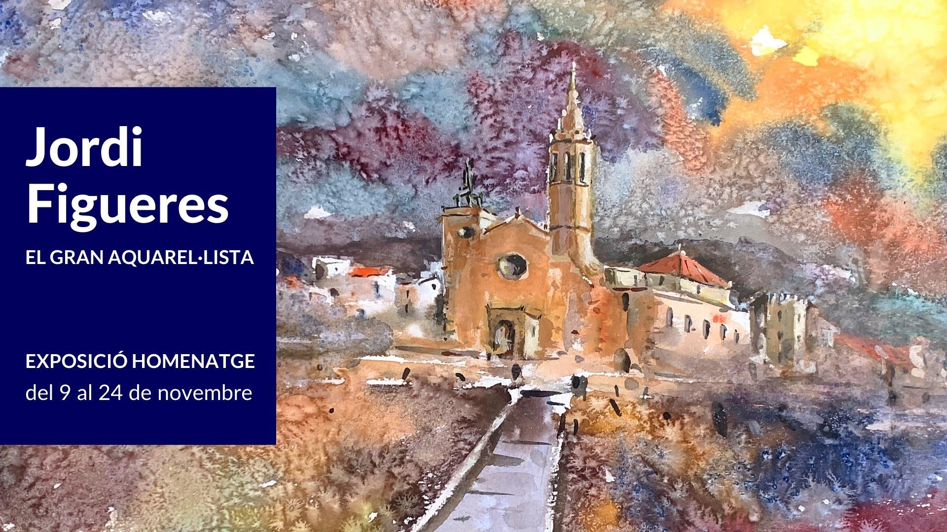 Inauguració de l'Exposició 'Jordi Figueres. El gran aquarel·lista'