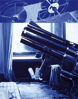 Inauguració de l'exposició Jacques Monory. Món cinéma