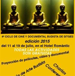 Inauguració del Quart Cicle de Cultura Budista a Sitges