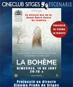 L'Òpera La Boheme en directe al Cinema Prado