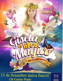 Musical Infantil Gisela y el libro magico